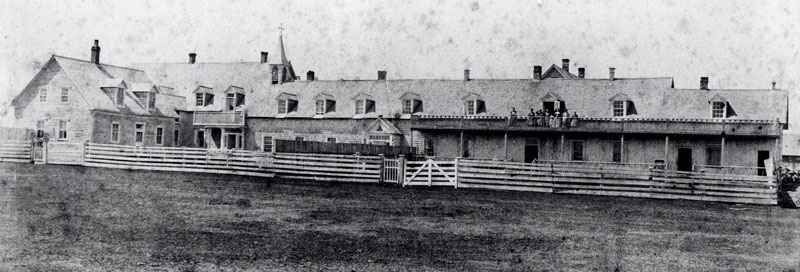 Photo du Lazaret de Tracadie
